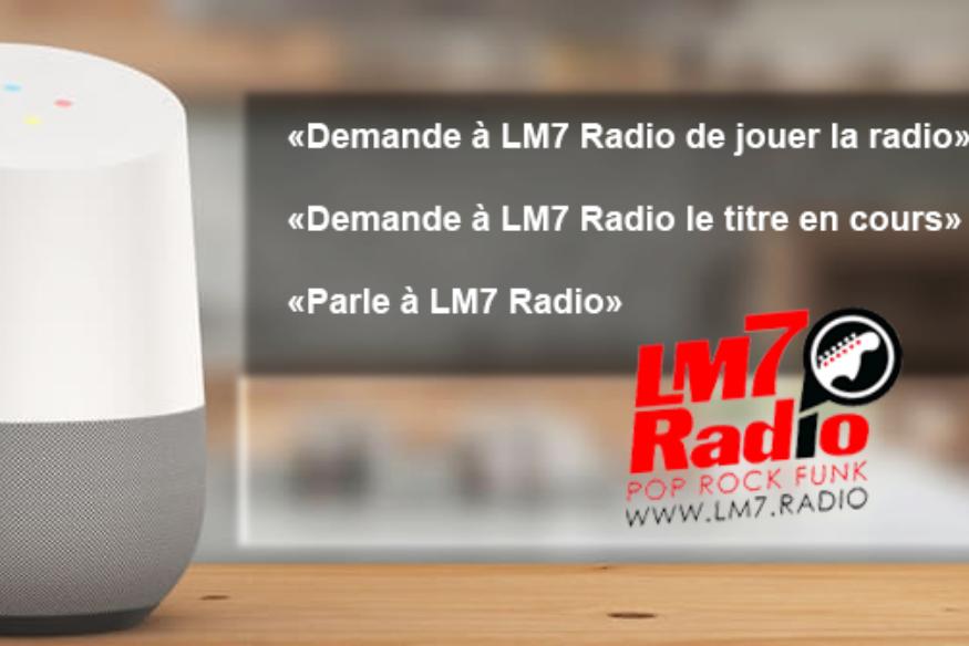 راديو LM7 على صفحة Google الرئيسية